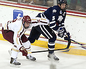 Kevin Hayes (BC - 12), Eric Knodel (UNH - 5) - The Boston College Eagles defeated the visiting University of New Hampshire Wildcats 6-2 on Friday, December 6, 2013, at Kelley Rink in Conte Forum in Chestnut Hill, Massachusetts.