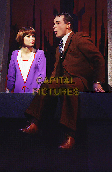 "AMANDA HOLDEN .Performing In Theatre Play ""Millie"" At The Shaftesbury Theatre in London.costume, stage, play .www.capitalpictures.com.sales@capitalpictures.com.©Capital Pictures"
