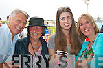 AT THE RACES: Camp Residents Association, enjoyed a great afternoon of racing at the annual Dingle races on Saturday last. Pictured l-r: Ron McDonnell, Veronica Heywood with Chloe and Sandra McDonnell.