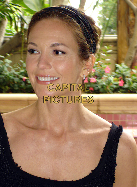 "DIANE LANE .Photocall for  ""Nights in Rodanthe"", The Wetherly Room, Four Seasons, Los Angeles, California, USA..September 13th, 2008.headshot portrait headband hairband  black .CAP/AW.©Anita Weber/Capital Pictures."