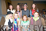 HANNAH MONTANA: Having fun at the Hannah Montana concert at the Fels Point Hotel on Saturday seated l-r: Hannah Lynch, Tara Fitzgerald, Eadaoin Jauch and Rebecca Ni? She? all from Dingle. Back l-r: Kayla McMahon, Sibe?al Cuffe, Kasha Flannery and Ruby Verling all from Dingle.