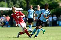 ANNEN - Voetbal, Annen - FC Groningen, voorbereiding seizoen 2017-2018, 09-07-2017, FC Groningen speler Juninho Bacuna