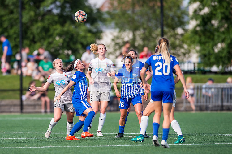 Boston, MA - Saturday June 24, 2017: Tiffany Weimer during a regular season National Women's Soccer League (NWSL) match between the Boston Breakers and the North Carolina Courage at Jordan Field.