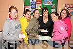 KIND HEARTS: Members of Killeentierna Youth Club who organised a 24 Hour Fast and Teenage Disco to raise funds for a number of charities..Front L/r.  Sara Mannix, DD O'Sullivan,  Maura Murphy, Cartiona McSweeney, Aisling O'Sullivan, Martina O'Donoghue ( Bro. Tom Walsh Desallian Development Project). .