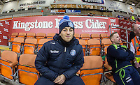 Scott Kashket of Wycombe Wanderers before the The Checkatrade Trophy match between Blackpool and Wycombe Wanderers at Bloomfield Road, Blackpool, England on 10 January 2017. Photo by Andy Rowland / PRiME Media Images.
