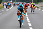 Magnus Cort Nielsen (DEN) Astana Pro Team launches an attack after the start of Stage 20 of the 2019 Tour de France running 59.5km from Albertville to Val Thorens, France. 27th July 2019.<br /> Picture: ASO/Pauline Ballet | Cyclefile<br /> All photos usage must carry mandatory copyright credit (© Cyclefile | ASO/Pauline Ballet)