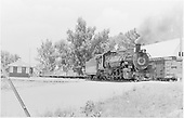 D&amp;RGW #494 switching at Aztec.<br /> D&amp;RGW  Aztec, NM