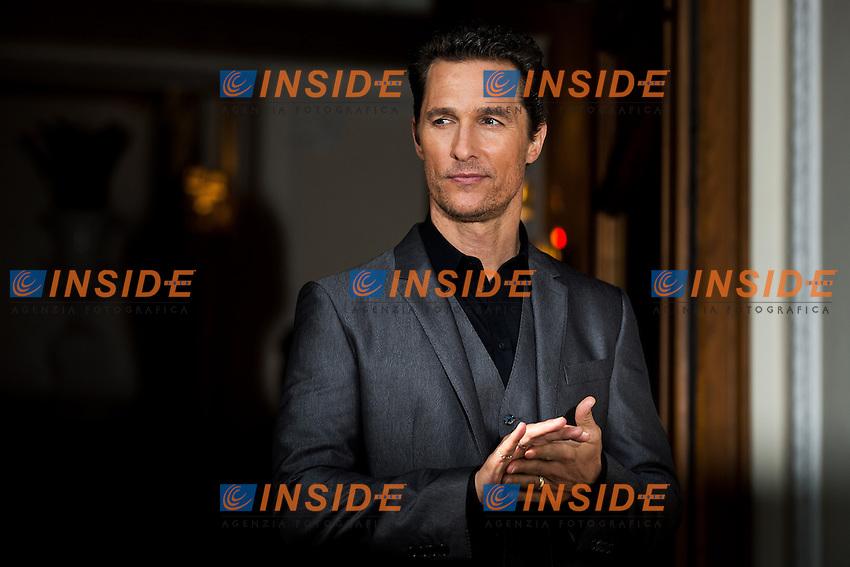 Matthew McConaughey  <br /> Roma 28-01-2014 Via Veneto<br /> Dallas Buyers Club Photocall <br /> Foto Andrea Staccioli / Insidefoto