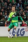 10.02.2019, Weserstadion, Bremen, GER, 1.FBL, Werder Bremen vs FC Augsburg<br /> <br /> DFL REGULATIONS PROHIBIT ANY USE OF PHOTOGRAPHS AS IMAGE SEQUENCES AND/OR QUASI-VIDEO.<br /> <br /> im Bild / picture shows<br /> Sebastian Langkamp (Werder Bremen #15), <br /> <br /> Foto © nordphoto / Ewert
