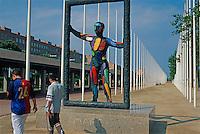 """Marc"" am Olympiahafen, Barcelona, Spanien"