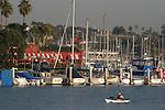 kayak at Oceanside harbor