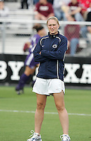 Christie Welsh, U.S. national team player, worked as an assistant for Penn State. The University of Portland Pilots defeated the Penn State University Nittany Lions 3-2 in a penalty kick shootout after the teams played to a 0-0 overtime tie at Aggie Socce