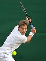 26-6-09, England, London, Wimbledon, 26-6-09, England, London, Wimbledon, Tommy Robredo