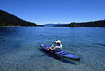 Lake Tahoe. Kayaking.