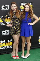 SANTA MONICA, CA, USA - FEBRUARY 15: Jennessa Rose, Julianna Rose at the 4th Annual Cartoon Network Hall Of Game Awards held at Barker Hangar on February 15, 2014 in Santa Monica, California, United States. (Photo by David Acosta/Celebrity Monitor)