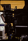 Close view of pilot end of D&amp;RGW #476 K-28.<br /> D&amp;RGW