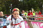 Elizabeth Deignan (GBR) at the end of the Women Elite Road Race of the UCI World Championships 2019 running 149.4km from Bradford to Harrogate, England. 28th September 2019.<br /> Picture: Seamus Yore | Cyclefile<br /> <br /> All photos usage must carry mandatory copyright credit (© Cyclefile | Seamus Yore)