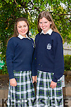 Kerry 1st year maths quiz at IT Tralee South campus on Friday. Pictured Charlotte O'Halloran and Aisling Harty from Presentation Tralee