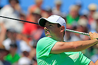 Rory McIlroy (NIR) tees off the 1st tee to start his match during Thursday's Round 1 of the 117th U.S. Open Championship 2017 held at Erin Hills, Erin, Wisconsin, USA. 15th June 2017.<br /> Picture: Eoin Clarke | Golffile<br /> <br /> <br /> All photos usage must carry mandatory copyright credit (&copy; Golffile | Eoin Clarke)