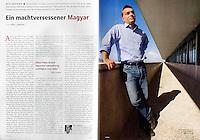 German magazine Cicero<br /> November 2010<br /> Photographer: Martin Fejer