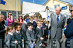 Prince Edward, Duke of Kent,  visited  the RNLI Lifeboat station in Fenit on Tuesday and met students from Fenit NS