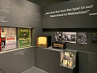 Wunder von Bern in der Ausstellung des Deutschen Fu&szlig;ballmuseum in Dortmund  - 08.02.2019: Deutsches Fu&szlig;ballmuseum in Dortmund<br /> DISCLAIMER: DFL regulations prohibit any use of photographs as image sequences and/or quasi-video.