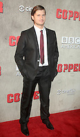 NEW YORK, NY - August 15, 2012: Tom Weston-Jones at the premiere of BBC America's Copper at the Museum of Modern Art in New York City. © RW/MediaPunch Inc. /NortePhoto.com<br />