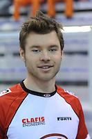 SCHAATSEN: Calgary: Essent ISU World Sprint Speedskating Championships, 28-01-2012, portret, Haralds Silovs (LAT), ©foto Martin de Jong