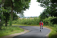 10 JUN 2011 - BRANSGORE, GBR - David Miles - Quintuple Enduroman event - Enduroman Ultra Triathlon Championships .(PHOTO (C) NIGEL FARROW)