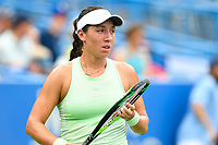 Washington, DC - August 3, 2019: Jessica Pegula (USA) during match against Anna Kalinskaya (RUS) during the Citi Open WTA Singles Semi Finals at Rock Creek Tennis Center, in Washington D.C. (Photo by Philip Peters/Media Images International)