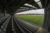 General view from the Globe Arena during the Sky Bet League 2 match between Morecambe and Wycombe Wanderers at the Globe Arena, Morecambe, England on 18 August 2015. Photo by Andy Rowland.