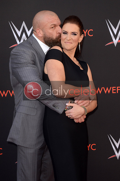 Stephanie McMahon, Triple H<br />