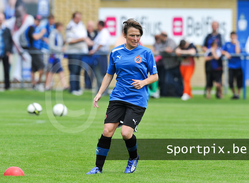 eerste training Club Brugge Dames : Christine Saelens.foto DAVID CATRY / Vrouwenteam.be