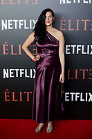 Farah Ahmed attends to 'Elite' premiere at Museo Reina Sofia in Madrid, Spain. October 02, 2018. (ALTERPHOTOS/A. Perez Meca) /NortePhoto.com NORTEPHOTOMEXICO