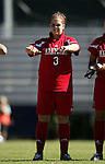 Kimberly Bunting, of Maryland, on Sunday, October 16th, 2005 at Duke University's Koskinen Stadium in Durham, North Carolina. The Duke University Blue Devils defeated the University of Maryland Terrapins 1-0 during an NCAA Division I Women's Soccer game.