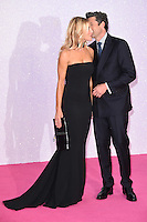 "Patrick Dempsey, wife Jillian<br /> at the ""Bridget Jones's Baby"" World premiere, Odeon Leicester Square , London.<br /> <br /> <br /> ©Ash Knotek  D3149  05/09/2016"