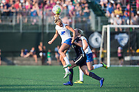 Allston, MA - Sunday July 17, 2016: Brittany Ratcliffe, Leah Galton during a regular season National Women's Soccer League (NWSL) match between the Boston Breakers and Sky Blue FC at Jordan Field.