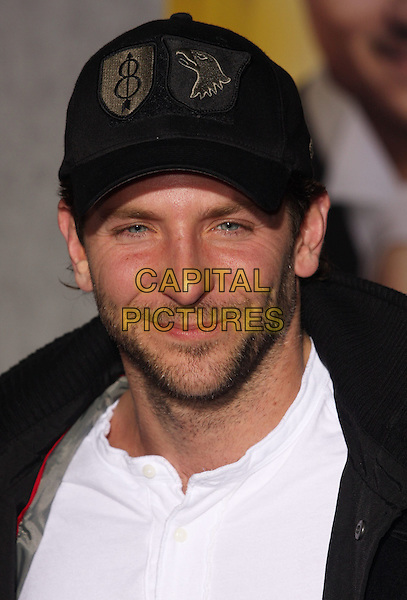 """BRADLEY COOPER .""""When In Rome"""" Los Angeles Premiere - Arrivals held at The El Capitan Theater, Hollywood, CA, USA, .27th January 2010..portrait headshot  cap hat black white beard stubble facial hair .CAP/ADM/CH.©Charles Harris/AdMedia/Capital Pictures"""