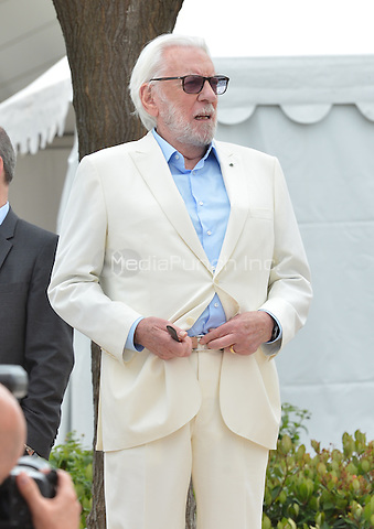 Donald Surtherland<br /> at  the Jury Photocall during the 69th Annual Cannes Film Festival at the Palais des Festivals on May 11, 2016 in Cannes, France.<br /> CAP/LAF<br /> &copy;Lafitte/Capital Pictures /MediaPunch ***NORTH AMERICA AND SOUTH AMERICA ONLY***