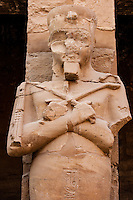 Egypt, Luxor. The Karnak Temple Complex in Luxor is dedicated to the god Amun, and is one of the most important in Egypt.