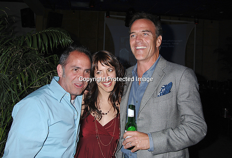 Producer Michael Corrente, Julie Bertramb and Richard Burgi ..at The 2006 Newport International Film Festival Spring Benefit in New York. ..Robin Platzer, Twin Images