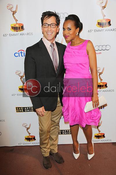 Dan Bucatinsky, Kerry Washington<br /> at the 65th Emmy Awards Nominee Celebration, Leonard H. Goldenson Theater, North Hollywood, CA 09-17-13<br /> David Edwards/Dailyceleb.com 818-249-4998