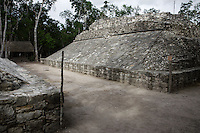 Ball Court, Coba Group, Quintana Roo Mayan site, 600-900 AD, Coba, Mexico Picture by Manuel Cohen