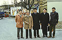 Austria 1986 <br /> Vienna: The last visit to Europe of Idris Barzani  <br /> Autriche 1986 <br /> Vienne: la derniere visite d'Idris Barzani en Europe