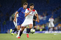 Martin Terrier of Lyon in action during Chelsea vs Lyon, International Champions Cup Football at Stamford Bridge on 7th August 2018