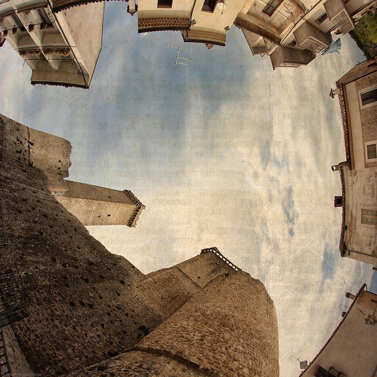 Abruzzo, Castello Caldora, Pacentro