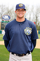 April 11 2010: Tyler Sample of the Burlington Bees. The Bees are the Low A affiliate of the Kansas City Royals. Photo by: Chris Proctor/Four Seam Images