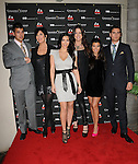 Rob Kardashian,Kris Kardasahian,Kim Kardashian,Khloe Kardashian Odom, Kourtney Kardashian & Scott Disick at The Kardashian Charity Knock Out held at The Commerce Casino in Commerce, California on November 03,2009                                                                   Copyright 2009 DVS / RockinExposures