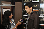 DURBAN - 5 September 2013 - Bollywood star Sidharth Malhotra is interviewed by tv9's Suman Dubey in Durban, South Africa, where he is attending the South Africa India Film and Teevision Awards. Picture: Allied Picture Press/APP