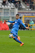 18th March 2018, Stadio Olimpico di Torino, Turin, Italy; Serie A football, Torino versus Fiorentina; Falcinelli plays the ball long upfield